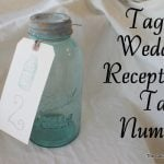 mason jar wedding reception table numbers-007
