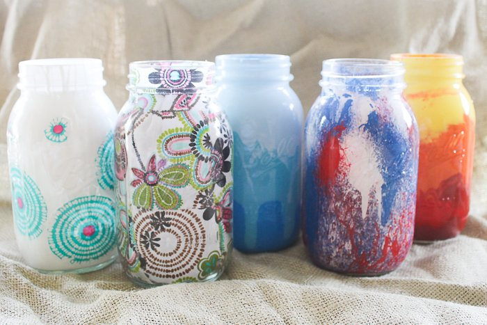 Decorating Jars Five Ways - The Country Chic Cottage