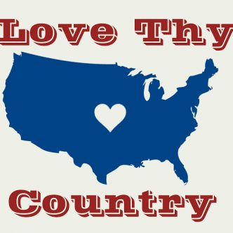 Love Thy Country FREE Printable
