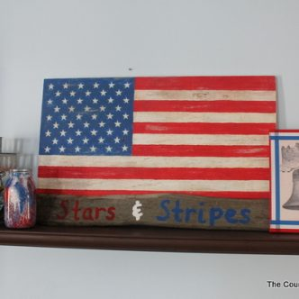 My Summer Mantle — Stars and Stripes