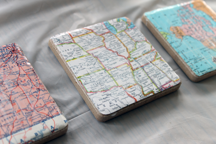 coasters made with mod podge