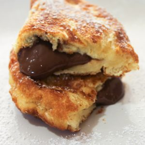 Quick and easy Nutella fried pies are the perfect dessert for anytime of the day or night! #dessert #recipe