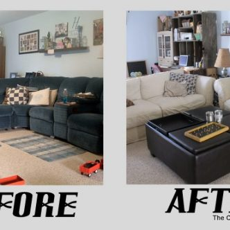 Pottery Barn Couches, Craigslist, and a new Living Room!