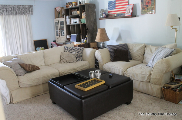 Pottery Barn Couches Craigslist And A New Living Room