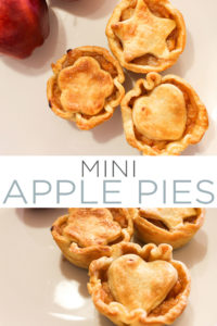 Make these mini apple pies for all your fall gatherings! These are perfect for fall parties, tailgates and even Thanksgiving dinners! #Fall # Pleasure #Torte # Apples #Apple Cake #Pierecipe #Dessert