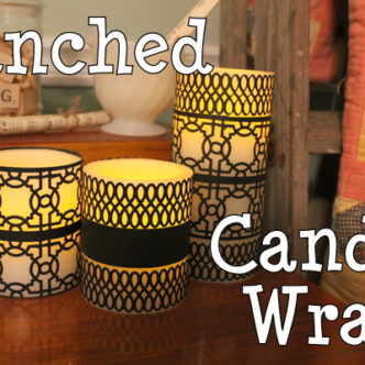 Punched Candle Wraps @consumer_crafts