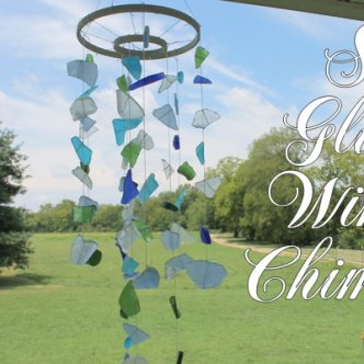 Sea Glass Wind Chimes