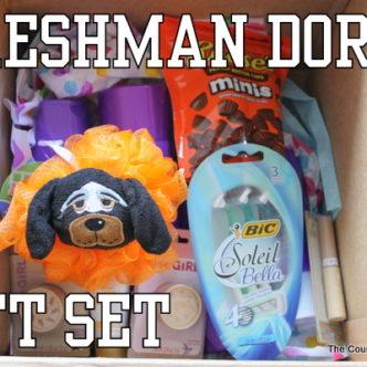 Freshman Dorm Gift Set with @mascotwear #cbias #MascotWear