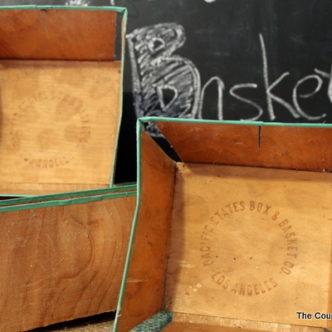 Vintage Fruit Baskets