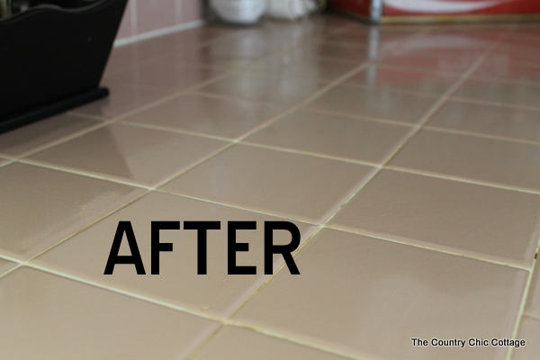 cleaning grout naturally