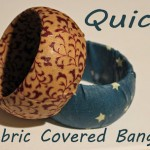 cl quik fabric covered bangle
