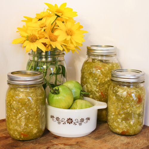 end of summer relish
