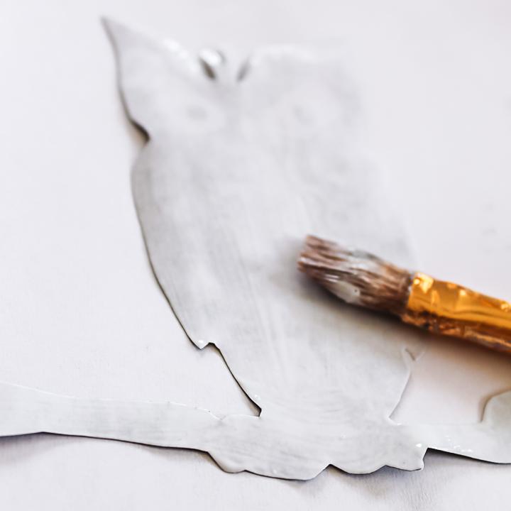 decoupage on paper
