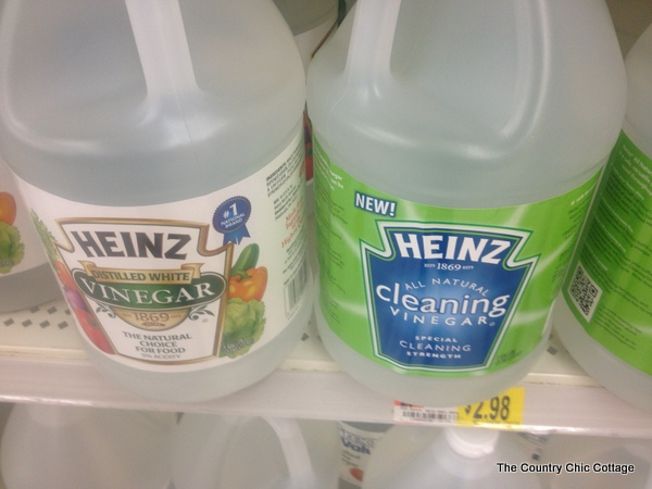 heinz cleaning vinegar bottles