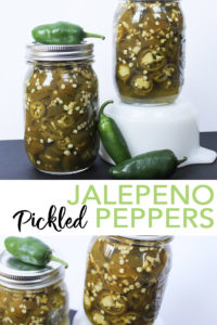 Make these pickled jalapeno peppers right from your garden this summer! Bread and butter pickle seasoning give these a sweet taste with a kick of jalapeno flavor! #canning #recipe #gardening #yum