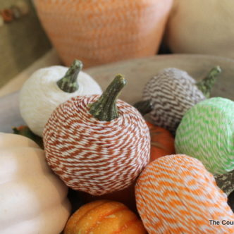 Baker's Twine Pumpkins