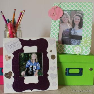 Desk Picture Frames with @Tuteracelebrate #Tuteracelebrate