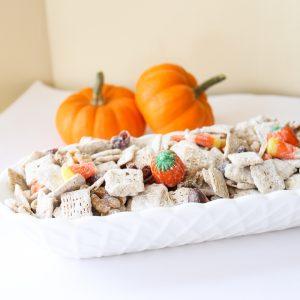 fall trail mix recipe with pumpkin spice