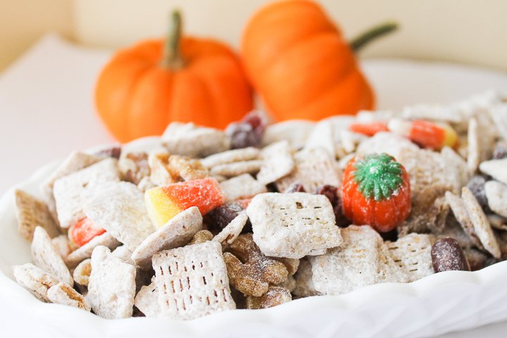 halloween trail mix for a party