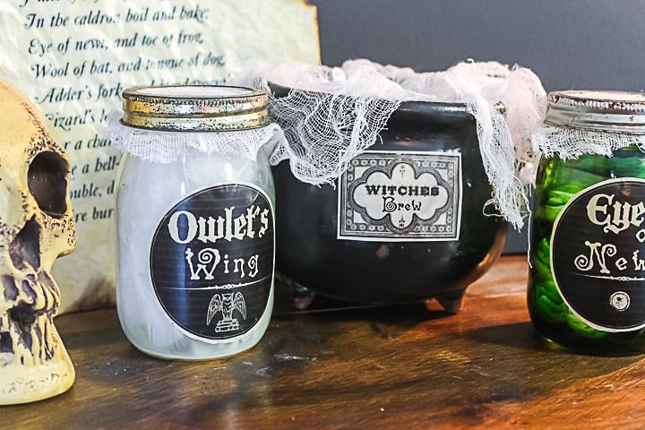 owlet's wing mason jar