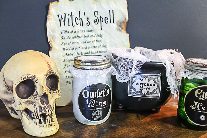 halloween spell printable