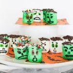 Easy Monster Halloween Marshmallows