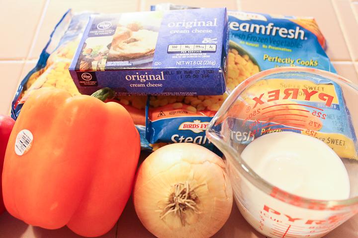 ingredients for cream corn casserole