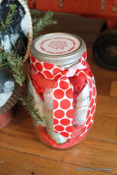 Mason Jar Gift Wrap With The Honest Company Thehonestco