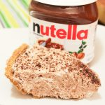 The Easiest No-Bake Nutella Pie