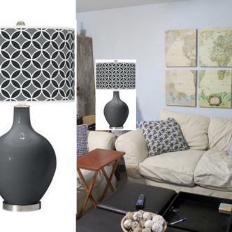 HELP! Picking lamps for the Family Room #cleverincolor #spon