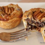 mini chocolate pecan pies-002