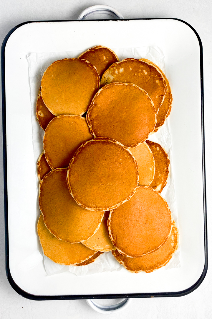 peanut butter pancakes recipe