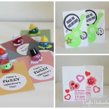 valentine's day cards and treat bags for girls and boys - the, Ideas