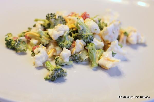 broccoli cauliflower salad-001