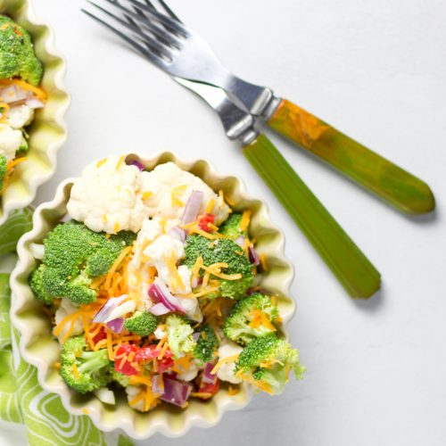 salad recipe with cauliflower