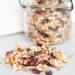 Cranberry Granola with White Chocolate
