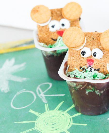 groundhog day snack idea