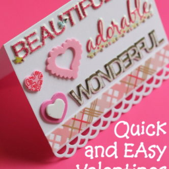 Quick and Easy Valentines Cards LIVE