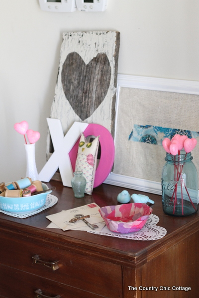 Valentine S Day Decor The Country Chic Cottage
