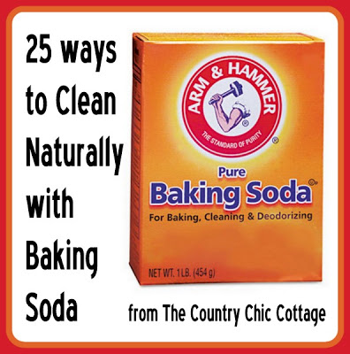 25 Ways To Naturally Clean With Baking Soda The Country
