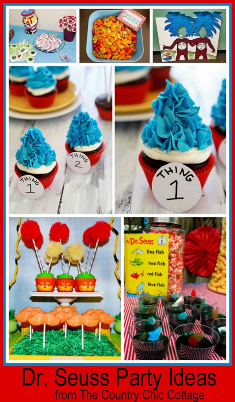 Over 40 Dr Seuss Birthday Ideas Crafts Parties Printables