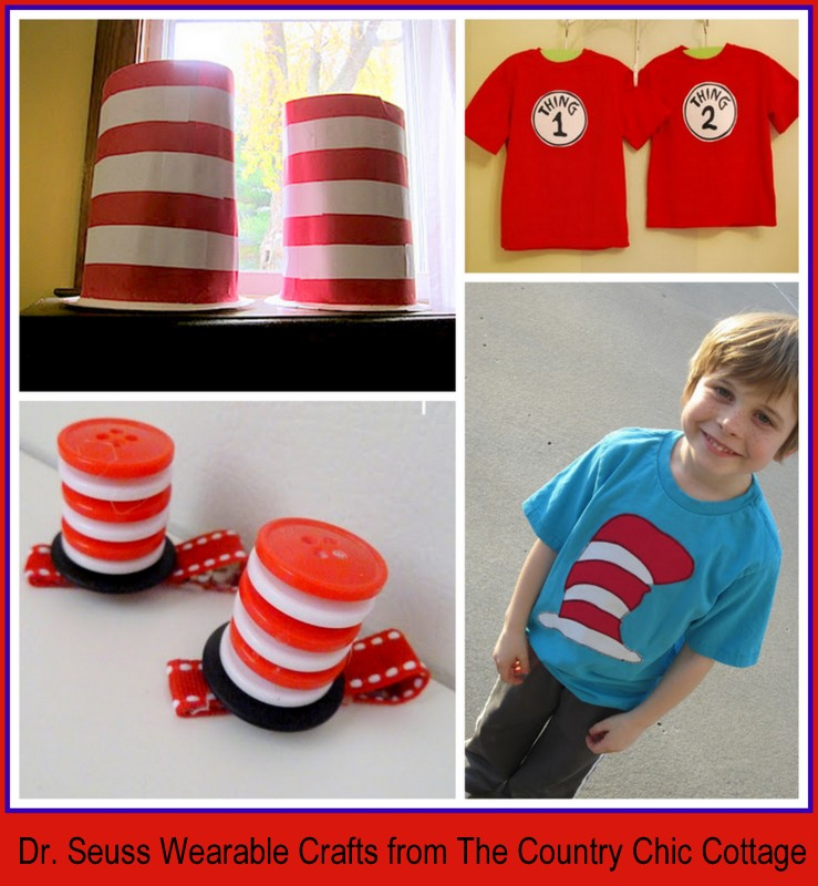Over 40 dr seuss birthday ideas crafts parties for Country over party shirt