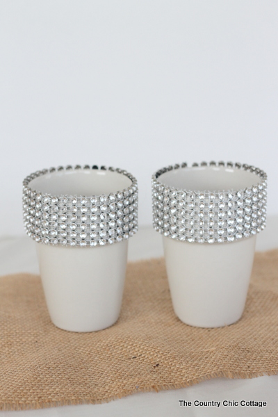 Wedding Ideas 3 Diy Bling Candle Holders The Country
