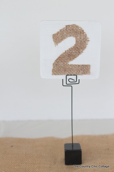 Table Numbers For Wedding Ideas around the world Wedding Ideas 3 Diy Table Numbers The Country Chic Cottage