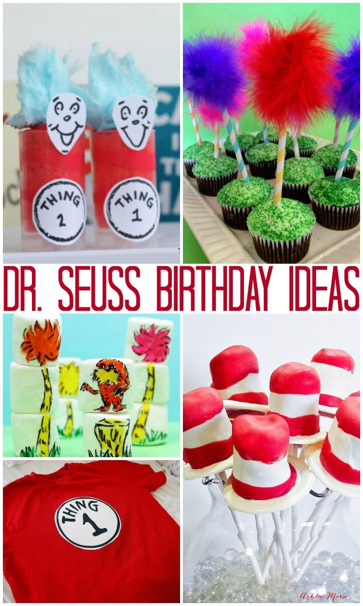 Dr Seuss Book Birthday Cake