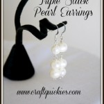 Wedding day 4 Triple-Stack-Pearl-Earrings-from-Craft-Quickies