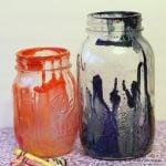 crayon drip mason jars-010