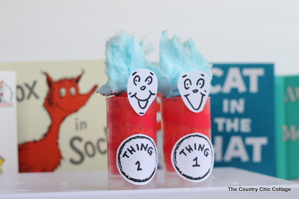 dr seuss birthday treats push pops cake