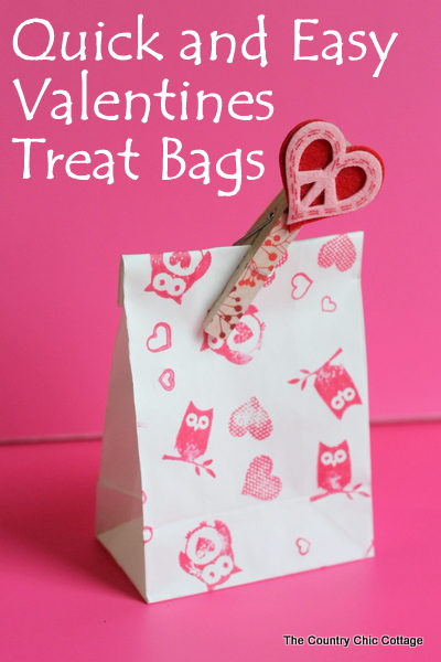 Washi Tape Valentine S Treat Bags Live Video The Country Chic Cottage