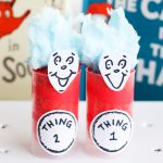 Dr. Seuss Birthday Treats: Thing 1 and 2 Push-Pop Cupcakes